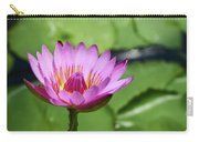 Pink Lotus Water Flower Carry-all Pouch