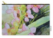Pink Moth Orchids II Carry-all Pouch