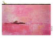 Pink Sky Abstract Carry-all Pouch