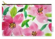 Pink Spring Carry-all Pouch