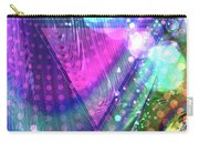 Pink Triangle Fractal Carry-all Pouch