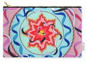 Pink, Yellow, Red Sun. Carry-all Pouch