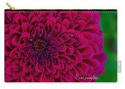 Pinked Zinnia Carry-all Pouch