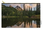 Pinnacle Peak Sunset Reflection Angles Carry-all Pouch