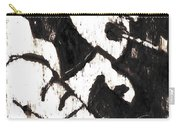 Pipe After Mikhail Larionov Black Oil Painting 4 Carry-all Pouch