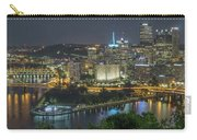 Pittsburgh Lights Carry-all Pouch by David R Robinson