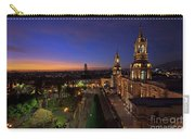 Plaza De Armas And Cathedral Of Arequipa, Peru Carry-all Pouch by Sam Antonio Photography