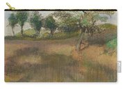 Ploughed Field Bordered By Trees Carry-all Pouch