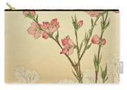 Plum Or Cherry Blossom Carry-all Pouch