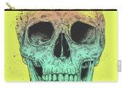 Pop Art Skull Carry-all Pouch