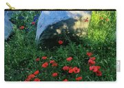 Poppies And Rocks Carry-all Pouch