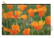 Poppies In The Breeze Carry-all Pouch