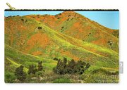 Poppy Hills And Gullies Carry-all Pouch