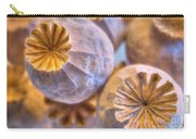 Poppy Seed Pods 2 Carry-all Pouch