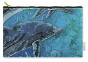 Porpoise Pair - Close Up Carry-all Pouch