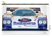 Porsche 962 Al Holbert Racing Carry-all Pouch