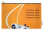 Porsche Sebring Vintage Racing Poster Carry-all Pouch