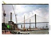Port Of Savannah Crane Construction Carry-all Pouch