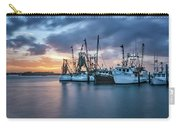 Port Orange Fishing Boats Carry-all Pouch by Tom Singleton