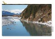 Portage Creek Portage Glacier Highway Alaska Carry-all Pouch