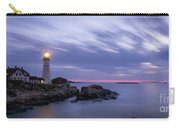 Portland Head Light At Twilight Pano Carry-all Pouch