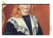 Portrait De Jean Renoir Carry-all Pouch