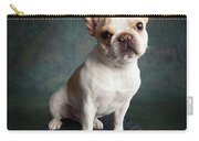 Portrait Of A French Bulldog Carry-all Pouch
