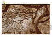 Portrait Of A Tree In Infrared Carry-all Pouch
