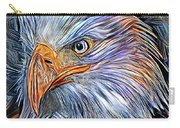 Portrait Of A Watchful Eye Carry-all Pouch