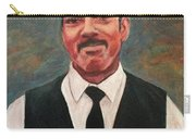 Portrait Of Artist Carl Butler Carry-all Pouch
