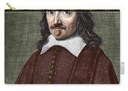 Portrait Of Descartes Carry-all Pouch