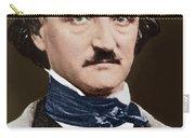 Portrait Of Edgar Allan Poe, Circa 1849 Carry-all Pouch