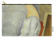 Portrait Of Jeanne Hebuterne, 1918 Carry-all Pouch
