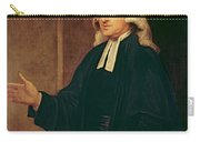 Portrait Of John Wesley Carry-all Pouch