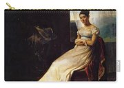 Portrait Of Laura Bro 1820 Carry-all Pouch