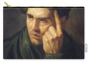 Portrait Of Lord Byron Carry-all Pouch