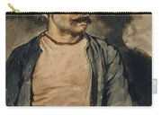 Portrait Of Mustapha Carry-all Pouch