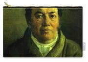 Portrait Of Nikolay O Ge Artist Father Carry-all Pouch