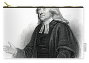 Portrait Of Reverend John Wesley Carry-all Pouch