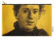 Portrait Of Tatyana Tolstaya Leo Tolstoy Daughter Carry-all Pouch