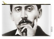 Portrait Of The French Author Marcel Proust Carry-all Pouch
