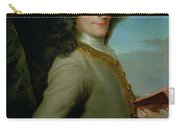 Portrait Of The Young Voltaire  Carry-all Pouch