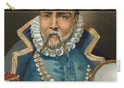 Portrait Of Tycho Brahe Carry-all Pouch