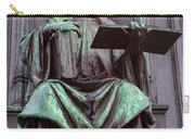 Prague Statue Carry-all Pouch