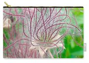 Prairie Smoke Carry-all Pouch by Ann E Robson