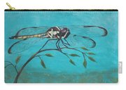 Praying Dragonfly Carry-all Pouch
