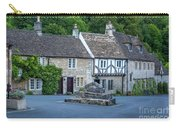 Pre-dawn In Castle Combe Carry-all Pouch by Brian Jannsen