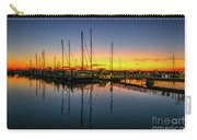 Pre-dawn Marina Colors Carry-all Pouch by Tom Claud