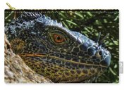 Prehistoric Portrait Carry-all Pouch