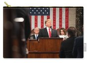 President Donald J. Trump Delivers His State Of The Union Address At The U.s. Capitol 2 Carry-all Pouch